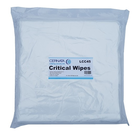 CERNATA� Extra Large Cleanroom Wipes 45x45cms Pack of 100